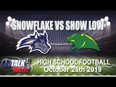 SNOWFLAKE vs SHOW LOW High School Football Full Game