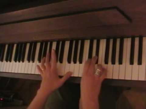 Tutorial piano she's a rainbow part 1