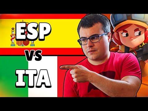 TEAM ESPAÑA (Alvaro845) vs TEAM ITALIA (Nemos) | Week 5 | Qlash Brawl Stars Invitational