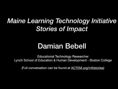Damian Bebell - Education Researcher