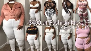 $400 at Fashion Nova!? Bihhhh.... Was It Worth It? | Try-On Haul | Plus Size