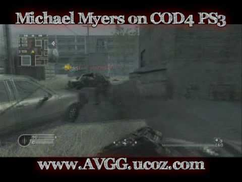 how to play michael myers cod4