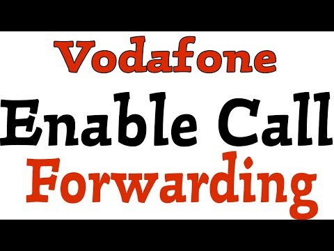 How To Activate Call Forwarding in Vodafone - YouTube