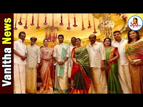 Celebrities And Politicians At Rajinikanth Daughter Marriage | Vanitha News | Vanitha TV