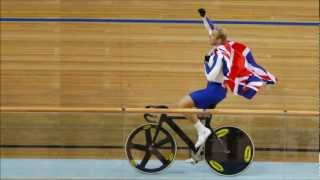 sir chris hoy and team gb win gold in cycling sprint at london 2012