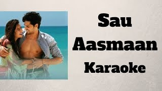 Sau Aasmaan - Baar Baar Dekho - KARAOKE / INSTRUMENTAL (Piano) and LYRICS Sidharth, Katrina, Armaan