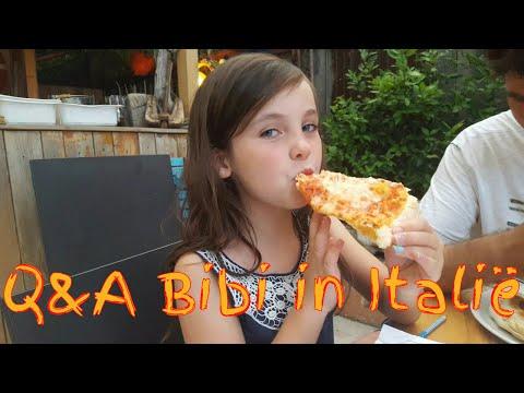 Q&A Bibi vlog in Italië! (Nederlands)