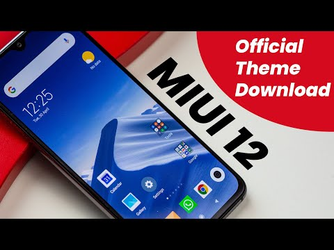 MIUI 12 Official Theme Download In Free