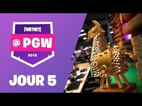 Fortnite à la Paris Games Week - Jour 5