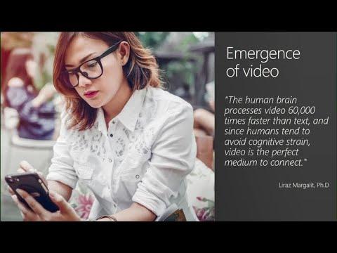 Leverage intelligent video to power a collaborative organization with Microsoft Stream