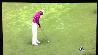 Charl Schwartzel 4 putt on 18th hole in Fed Ex Cup race 2012