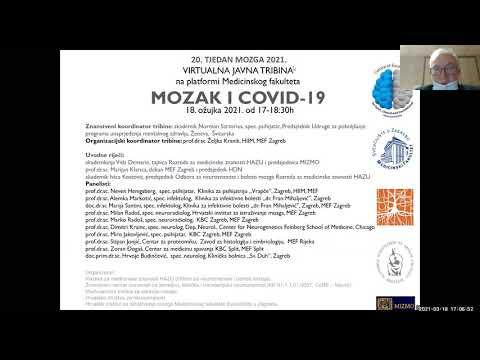 Javna tribina MOZAK i COVID-19, 20. Tjedan Mozga