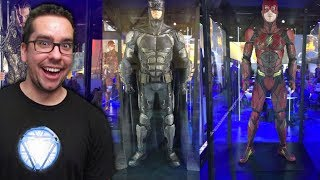 Up Close Look at the Justice League Costumes from License Expo