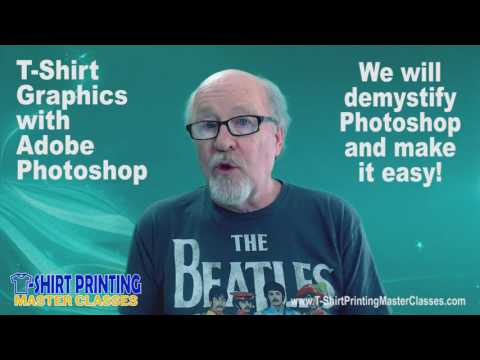 T-Shirt Graphics with Adobe Photoshop Online Master Classes Overview