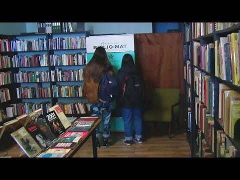 Biblio-mat: Getting your next read from a vending machine