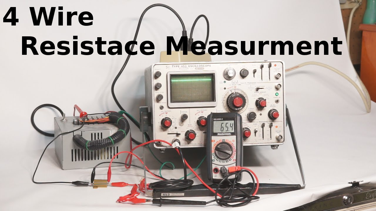 4 Wire Resistance Measurement - YouTube