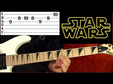 STAR WARS: The Force Theme - Guitar Lesson✅✅🎵 - YouTube