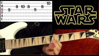Guitar Lesson - STAR WARS: THE FORCE THEME ( Luke's Theme) aka: Binary Sunset