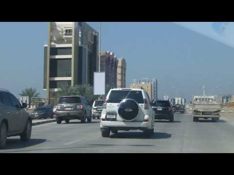 Driving from Ras-al-Khaimah to Dubai