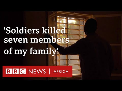 Burkina Faso crisis: 'Soldiers killed seven members of my family' - BBC Africa