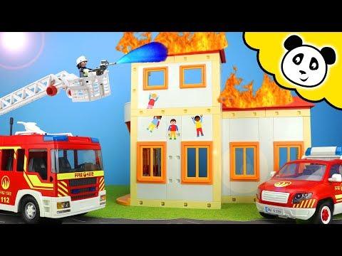 Playmobil Feuerwehr - Die SPANNENDSTEN Brände In Pandido City! - Playmobil Film
