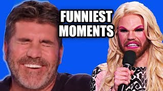 Funniest TV Show Auditions (Idol + X Factor + Got Talent) | Try Not ...
