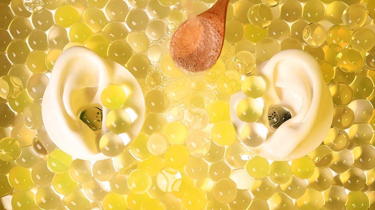ASMR Satisfying Orbeez & Fizzy Sparkling Water 1 Hour 쉴틈 없이 느껴지는 팅글! 개구리알 탄산수 ASMR 1시간