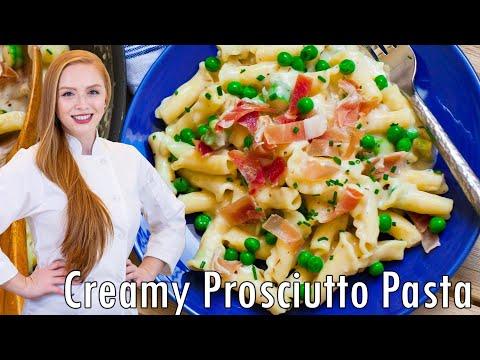Creamy Prosciutto Pasta