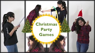 7 Fun and easy games for kids and adults | Christmas Party Games (2019)