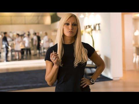 Gina Gershon Plays Donatella Versace in House of Versace   POPSUGAR Interview