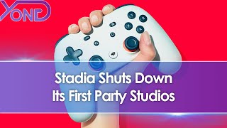 Google Stadia Shuts Down All Of Its First Party Studios