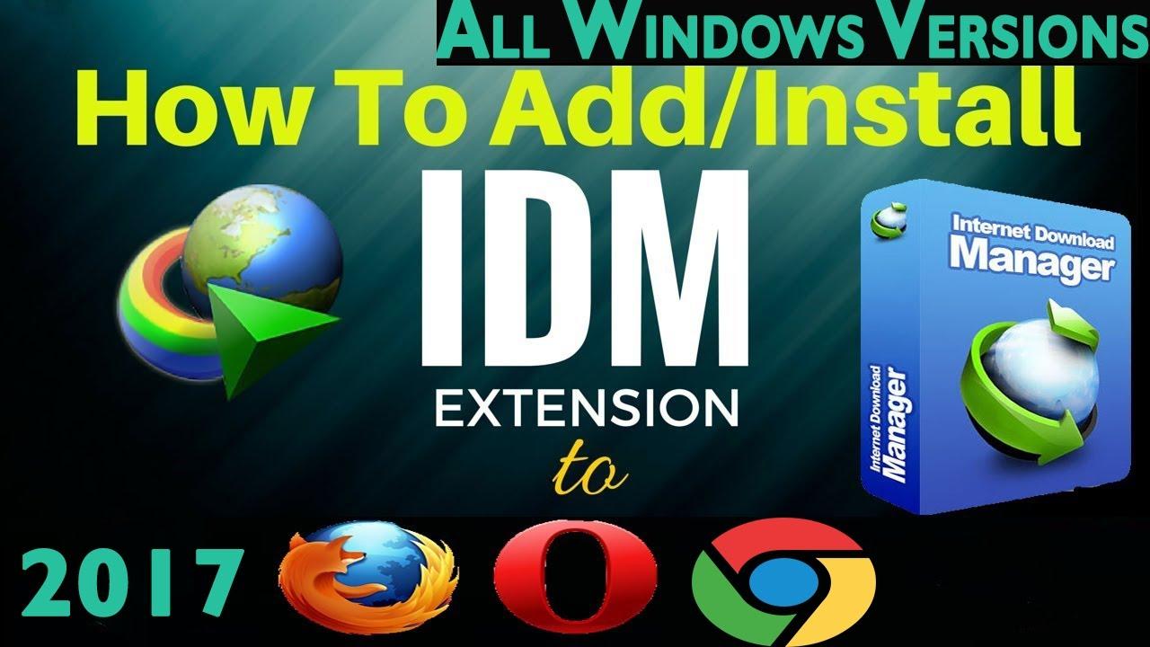 Add On Idm Opera