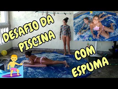 DESAFIO DA PISCINA COM SABÃO ESPUMA E DIVERSÃO PISCININHA AMOR CHAllENGES POOL FOAM thumbnail