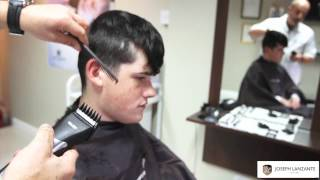 Joseph Lanzante lesson on the art of  Clipper Cutting
