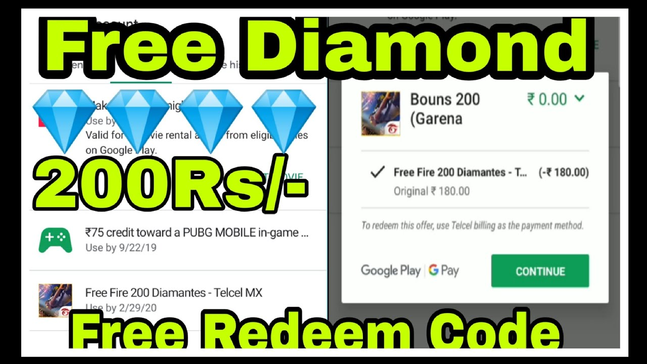 Free Diamond New Trick 💎💎💎 || How To Get Free Redeem Code || Garena Free  Fire 🔥 || FF with AR