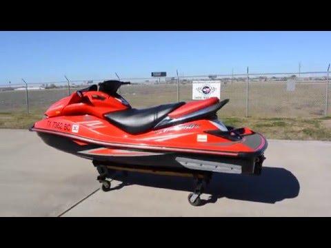 $5,599: Pre Owned 2008 Kawasaki Ultra 250X 250 Horsepower Jet Ski