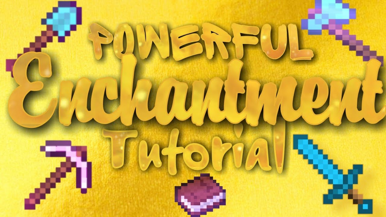 How to make powerful ENCHANTED TOOLS and SWORD in Minecraft? |Minecraft| Aaron Celestino Torres (HD)