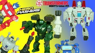 Transformers Bulkhead and Jetfire Hero Mashers Megatron Tricks to Join Deceptons Help Optimus
