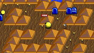 Pac Mania Sega Mega Drive/Genesis full playthrough