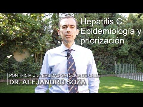 Epidemiología y priorización de la hepatitis C