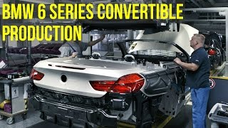 BMW 6 Series Convertible Production