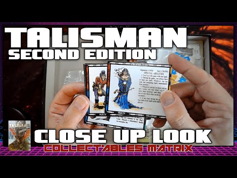 Talisman Second Edition   Board Game Close Up  