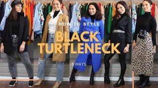 HOW TO STYLE BLACK TURTLENECK | GRIDISTYLE BY MEITAL GEFFEN