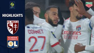 FC METZ - OLYMPIQUE LYONNAIS (1 - 3) - Highlights - (FCM - OL) / 2020-2021