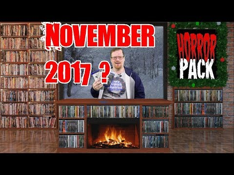 November 2017 Horror Pack Unboxing