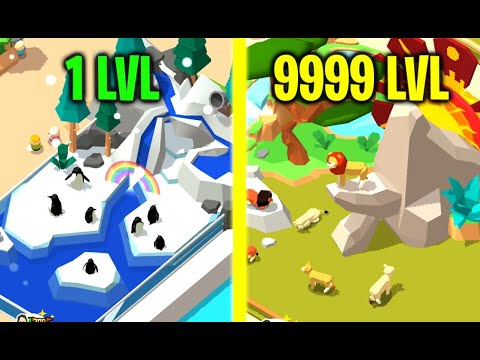 IDLE ZOO TYCOON! STRONGEST Rare Lion King Evolution! Unlimited Money HACK In Idle Zoo Tycoon!