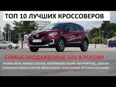 Топ-10 лучший кроссовер в России цены и комплектации