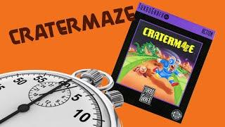 5 Minute Play: CraterMaze (TurboGrafx 16)