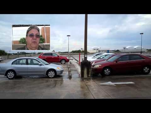 Top Floor Orlando Fashion Square Parking Garage1