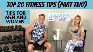 Top 20 Fitness Tips    Top Fitness Advice    Fitness Tips That Work    Focus On Good Form    Part 2
